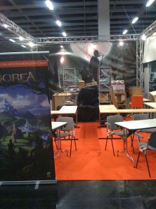 ABOREA Messestand